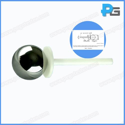 IEC60529 61032 IP1X 50mm Test Sphere Probe A