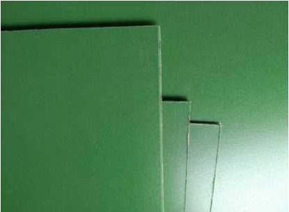 Coated aluminum entry board for PCB Drilling
