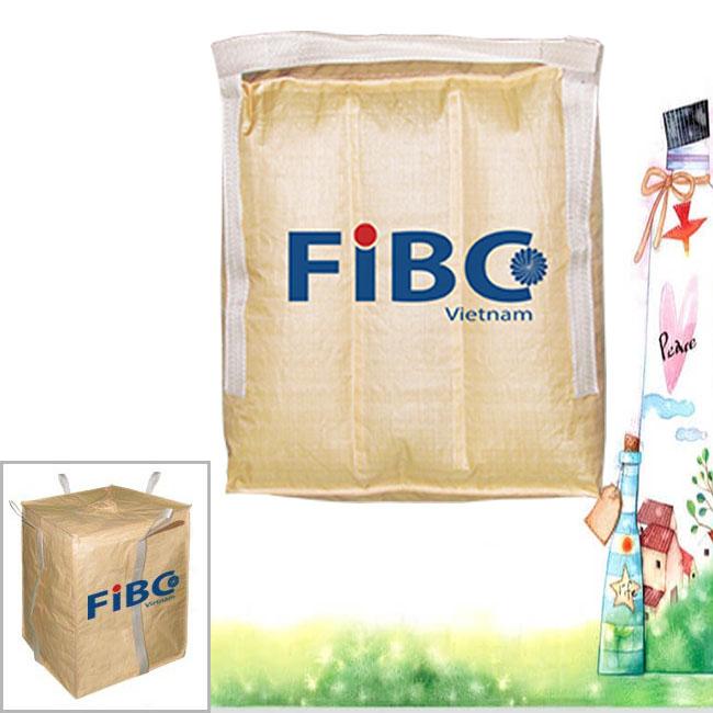 Fibc bag, jumbo big bag, pp 100% virgin woven bag, container bag, super sack in Vietnam