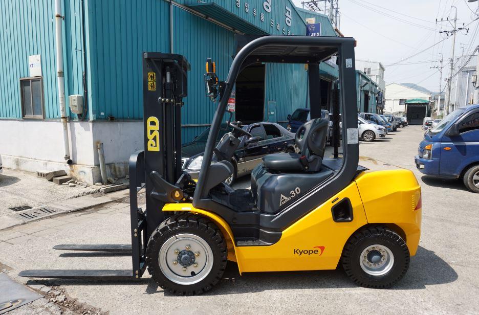 VOLKAN P20DF, P25DF, P30DF/ Diesel Forklift / Engine Forklift / made in South Korea / PSD heavy Indu