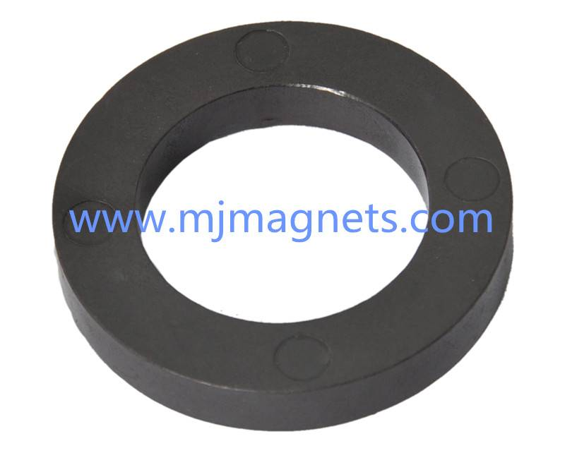 plastic injection molded ring magnets