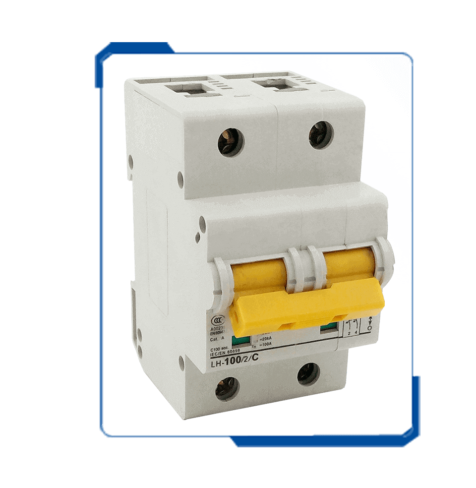 PLHT 100 Amp Inline Electrical Mcb Switch Residential Circuit ...