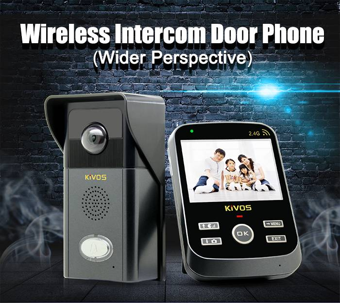 KDB303 Wireless video door phone