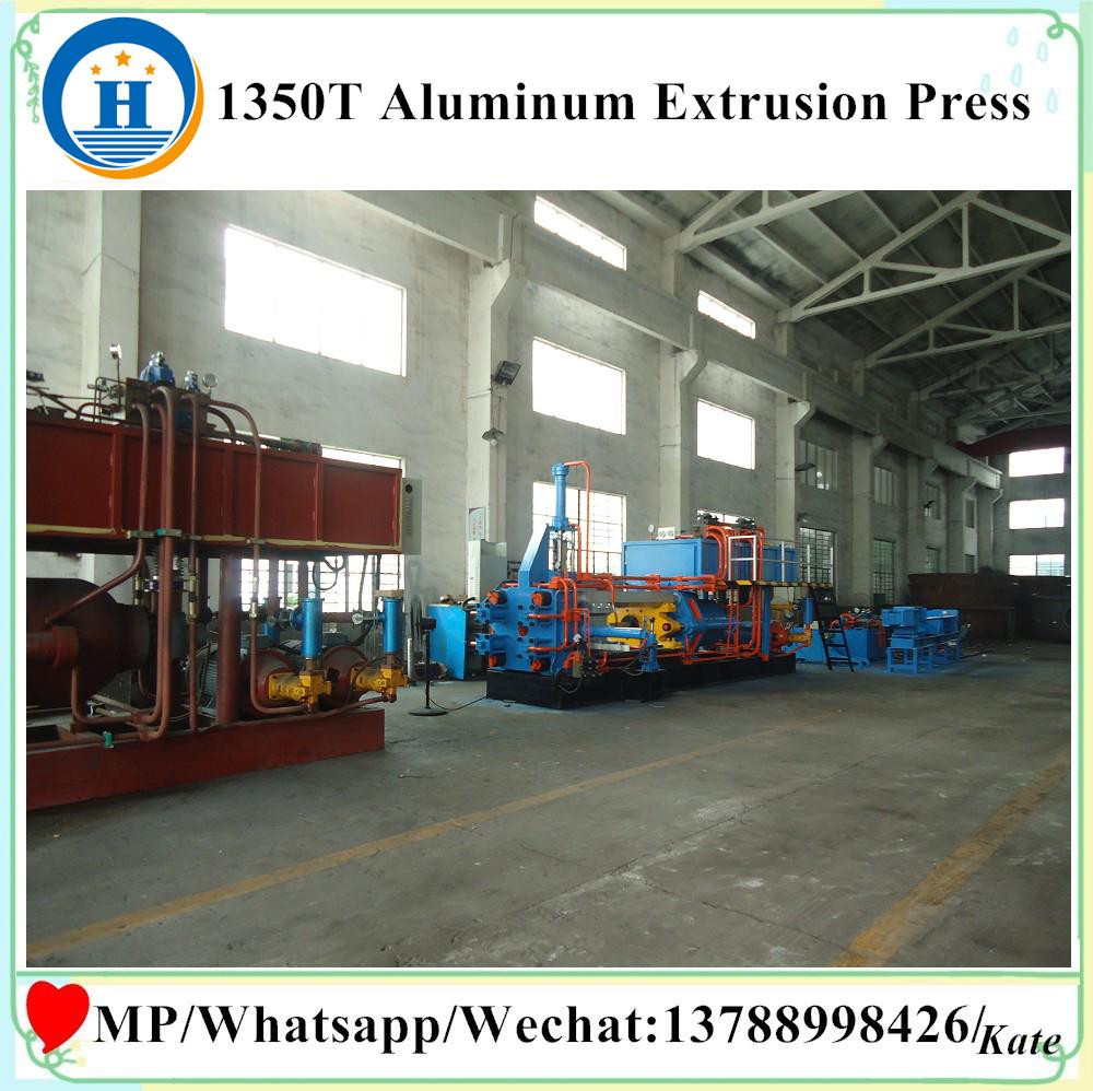 manufacturer of extrusion press profile extruder machine aluminium
