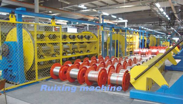 Rigid Type Stranding Machine for coper conductor