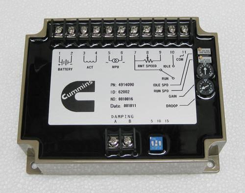 cummins generator electronic speed control unit