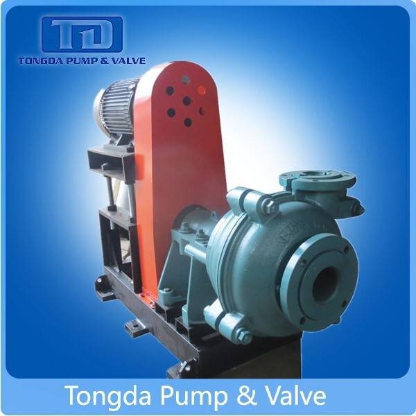 Low price anti-corrosive and anti-abrasion centrifugal slurry pump