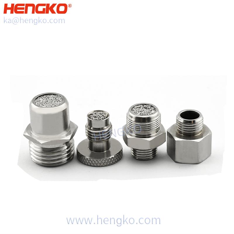 High flow non-invasive ventilator air inlet filter medical 316L stainless steel filter