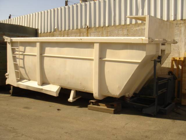 Tipper's box from DAF 85 truck.