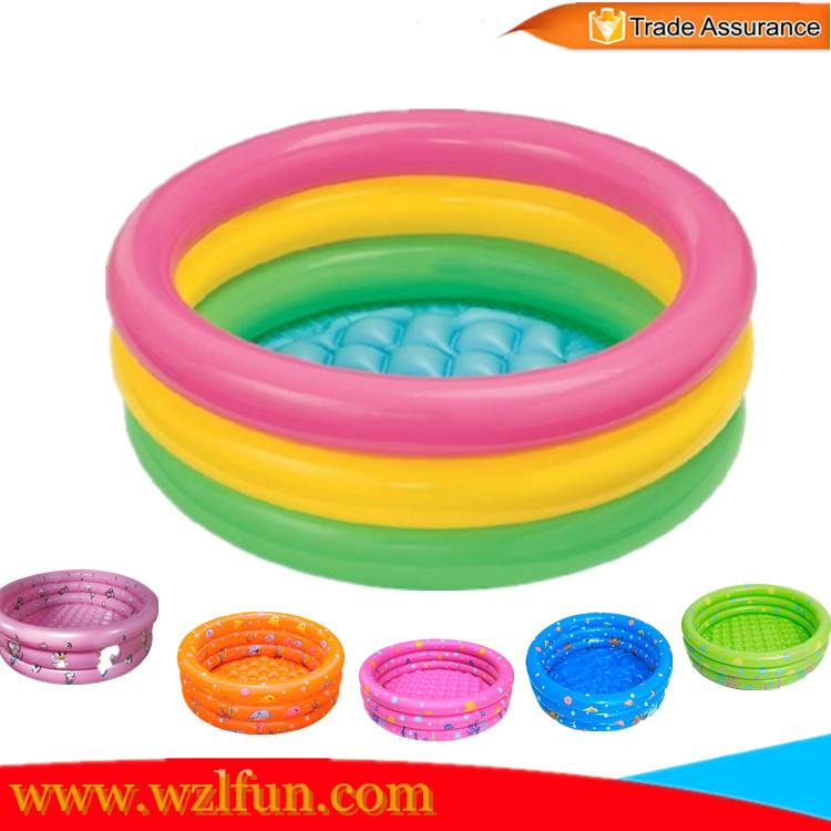 PVC inflatable baby swimming pool / inflatable swimming ring