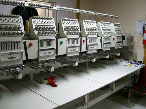 Brother 6 Head embroidery machine