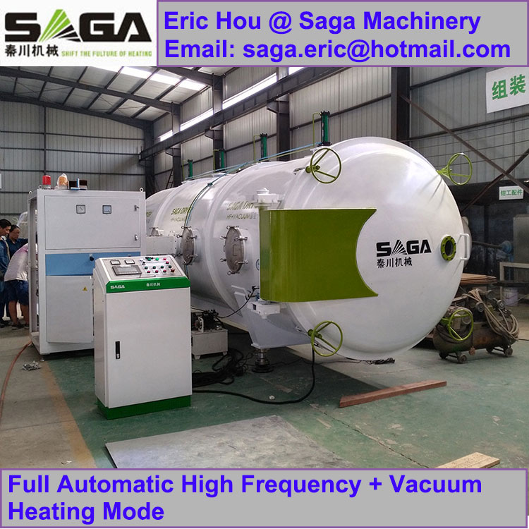 Radio Frequency Vacuum Wood Dryer Kiln RF Timber Drying Machine
