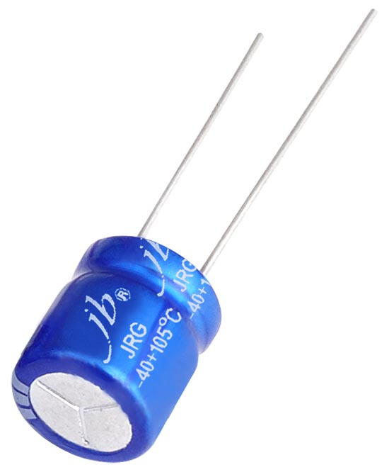 JRG - 10000H at 105°C, Radial Aluminum Electrolytic Capacitor Features