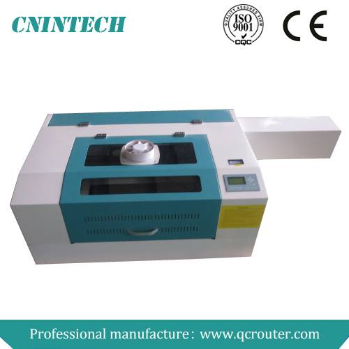 QC6040 for non-metal material portable laser fabric cutting machine/mini laser cutting machine/porta