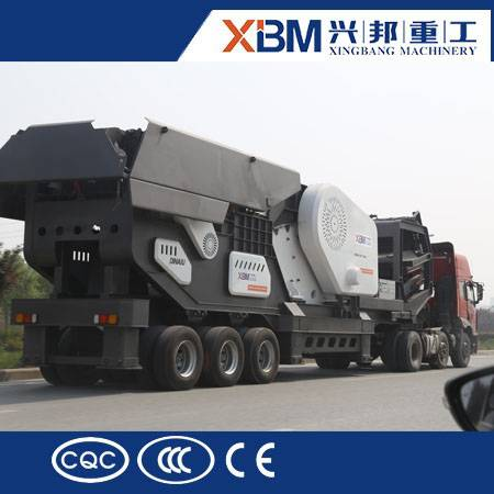 High performance mobile crusher / mobile stone crusher