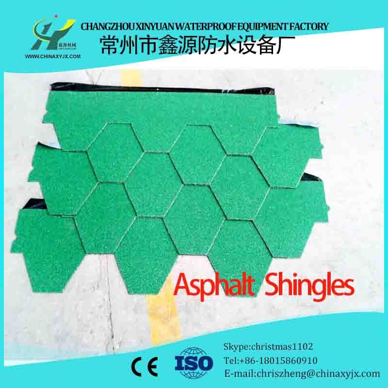Complete automation asphalt roofing shingle plant