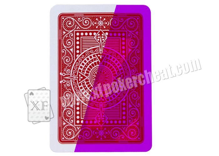 Gambling Italian Modiano Texas Holdem Plastic Marked Cards Poker