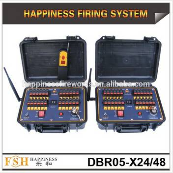 New products on promotion,48 channels 500 M Remote control system, sequential fireworks firing syste