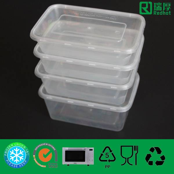 Supply PP Plastic Food Container with Lid