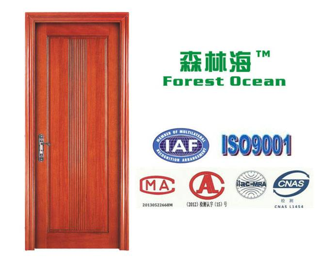 Interior solid wood door design with high quality