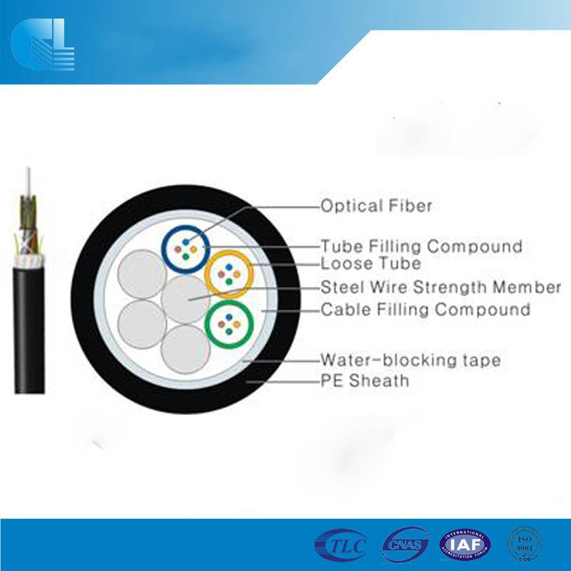 Stranded Loose Tube Cable with Non-metallic Central Strength Member(GYFTY)