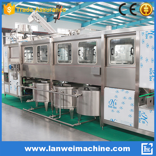 20L Bottle Water Bottling Machine 5 Gallon Bottle Filling line