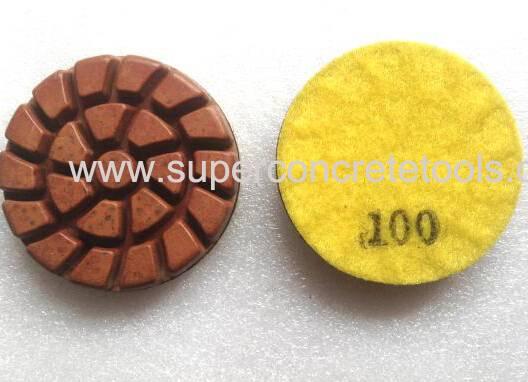 Spiral Semi Metallic Polishing Pads