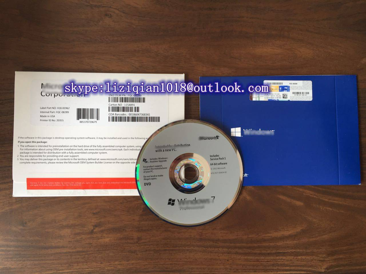 MS  windows 7 8.1 10 OEM key code brand new