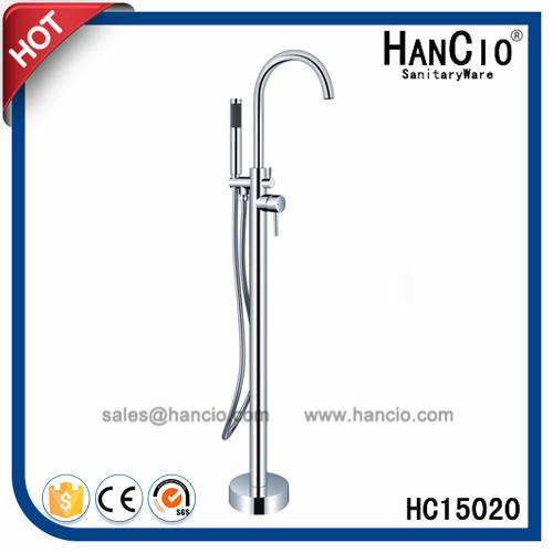 Freestanding Solid Brass Hot and Cold Bath Tap (HC15020)