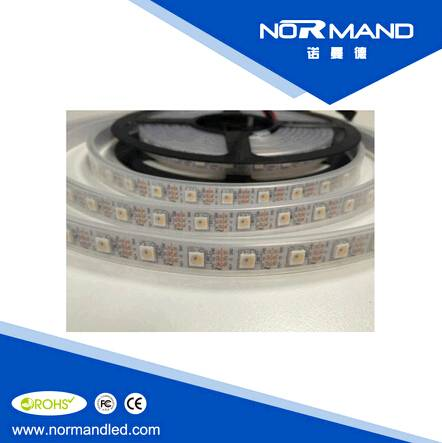 addressable 5V 60pcs smd 5050 flexible SK6812  RGBW pixel led strip
