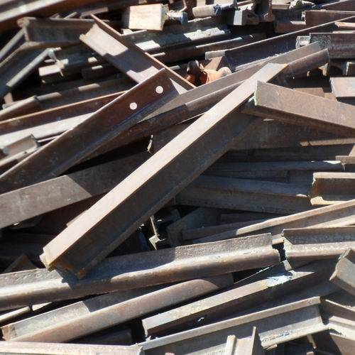 used rails, hms, steel scraps