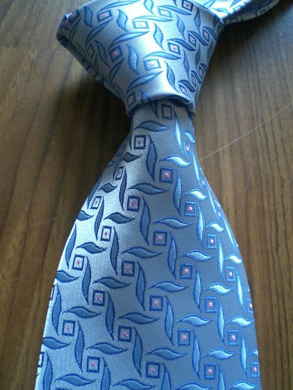 Silk Blue Neck Tie(6826)