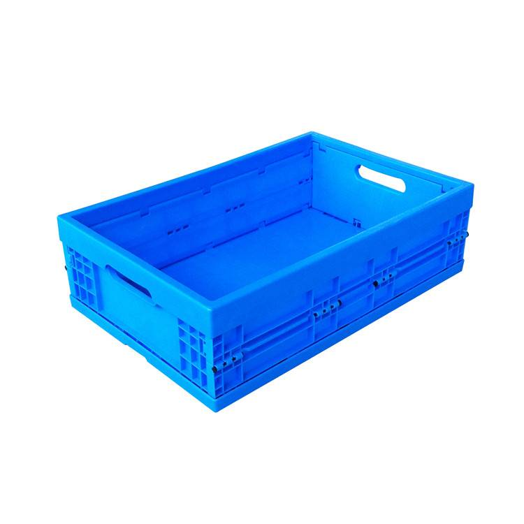 600*400*175mm plastic material solid type crate