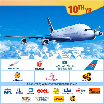 Air freight from PVG to KWI//DOH//DMM//RUH/JED/AUH