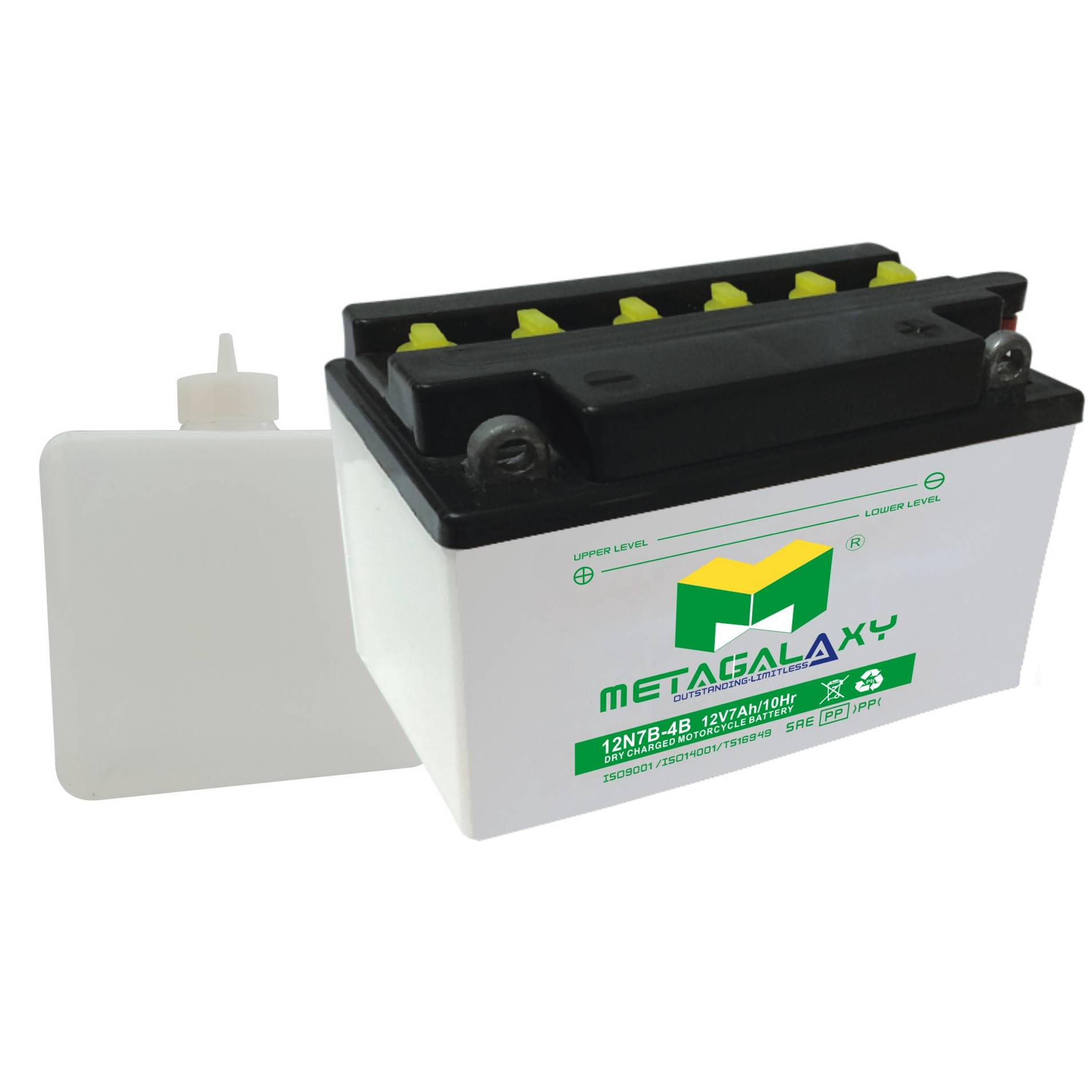 Top quality hot sale 12v 7ah electric motorcycle battery