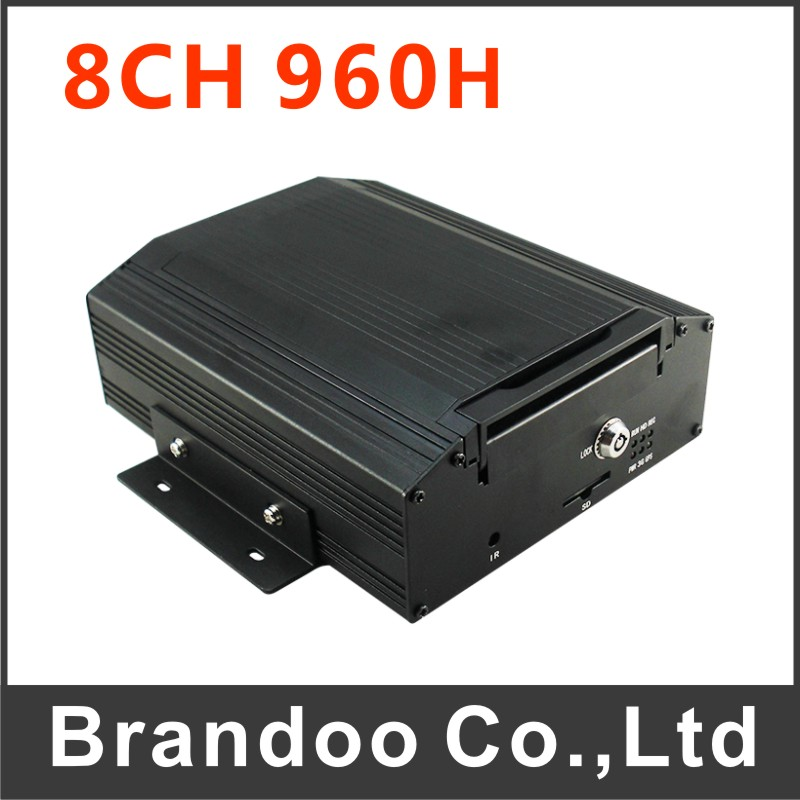 8 Channel 960H CAR DVR BD-308