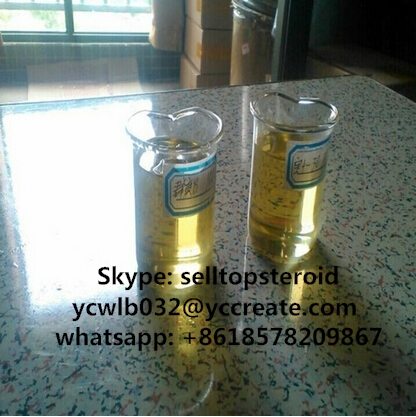 Semi-Finished Injectable Anabolic Steroids Testosterone Enanthate for Bodybuilding