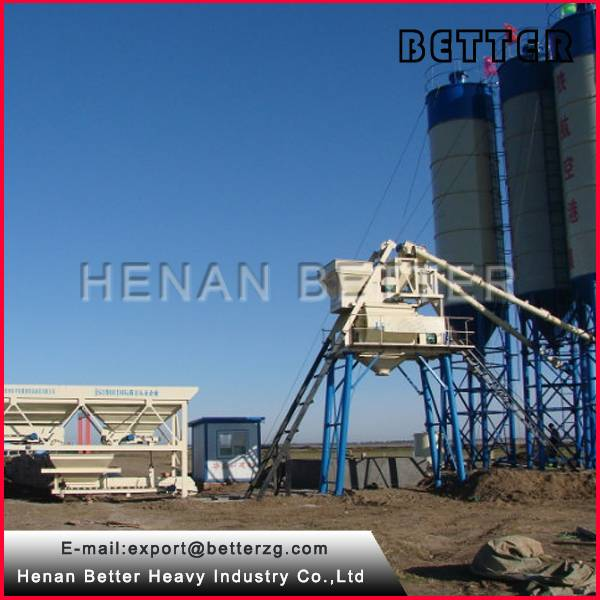 working principle of concrete batching plant