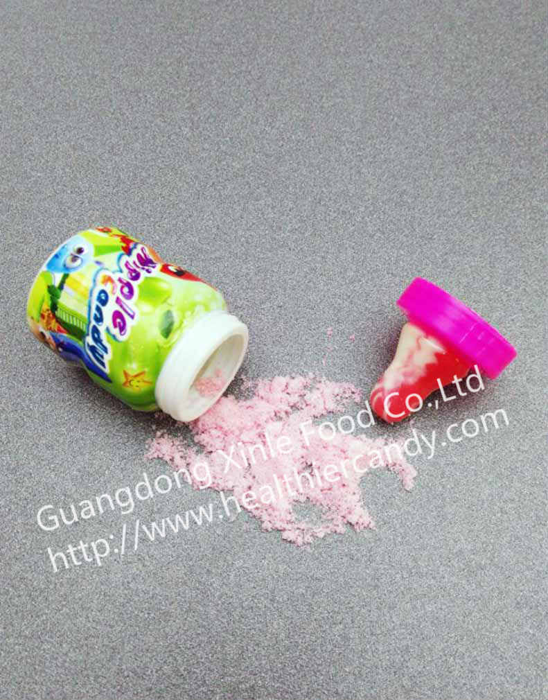 Hot Sale Nipple-shaped Hard Candy with Powder Funny and Nice Taste