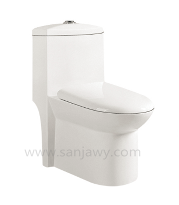 Hot Sale Toilet with Tank Environmental Ceramic Hotel One Piece Toilet