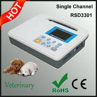 Single Channel ECG Machine for Animals