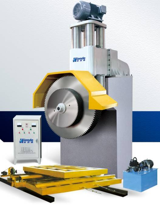 Granite cutting machine, Granite block cutting machine, Multi blade granite cutting machine, Granite