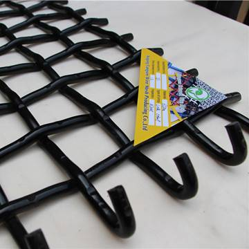 Woven wire screen for quarry aggregate