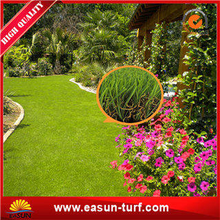 Beautiful synthetic turf grass for home with SGS certificate- ML