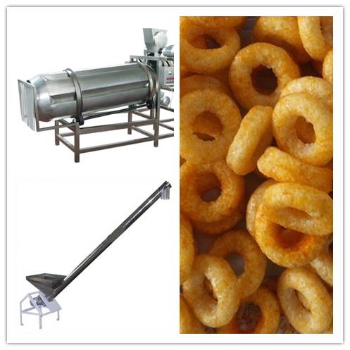 fully automatic puffed snack production line