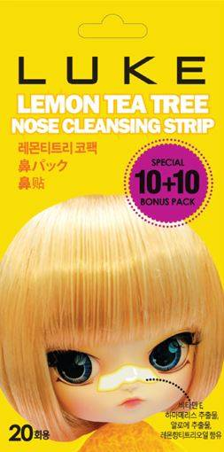Sell the High Qulaity of Lemon Tea Tree Nose Cleasing Strips
