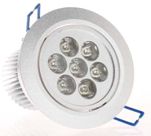 LED Ceiling light 7w;Home lightings;7WLED Down light,high power led ceiling light