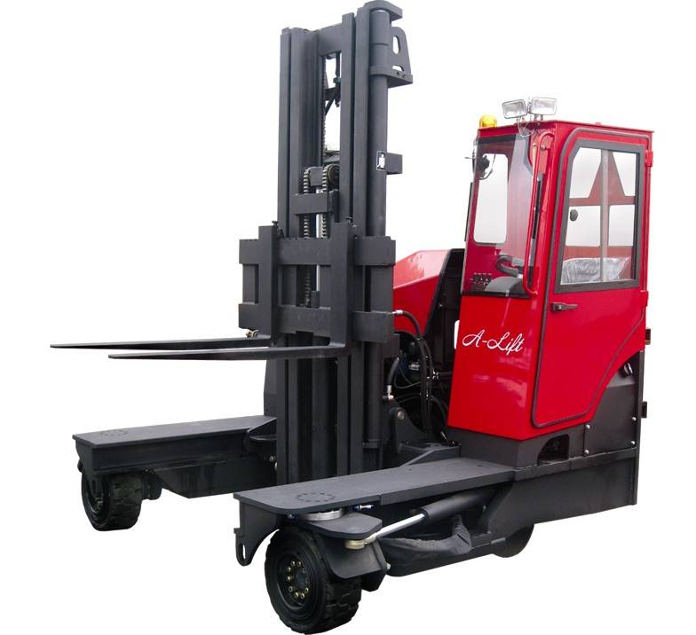 Multidirectional forklift A-lift