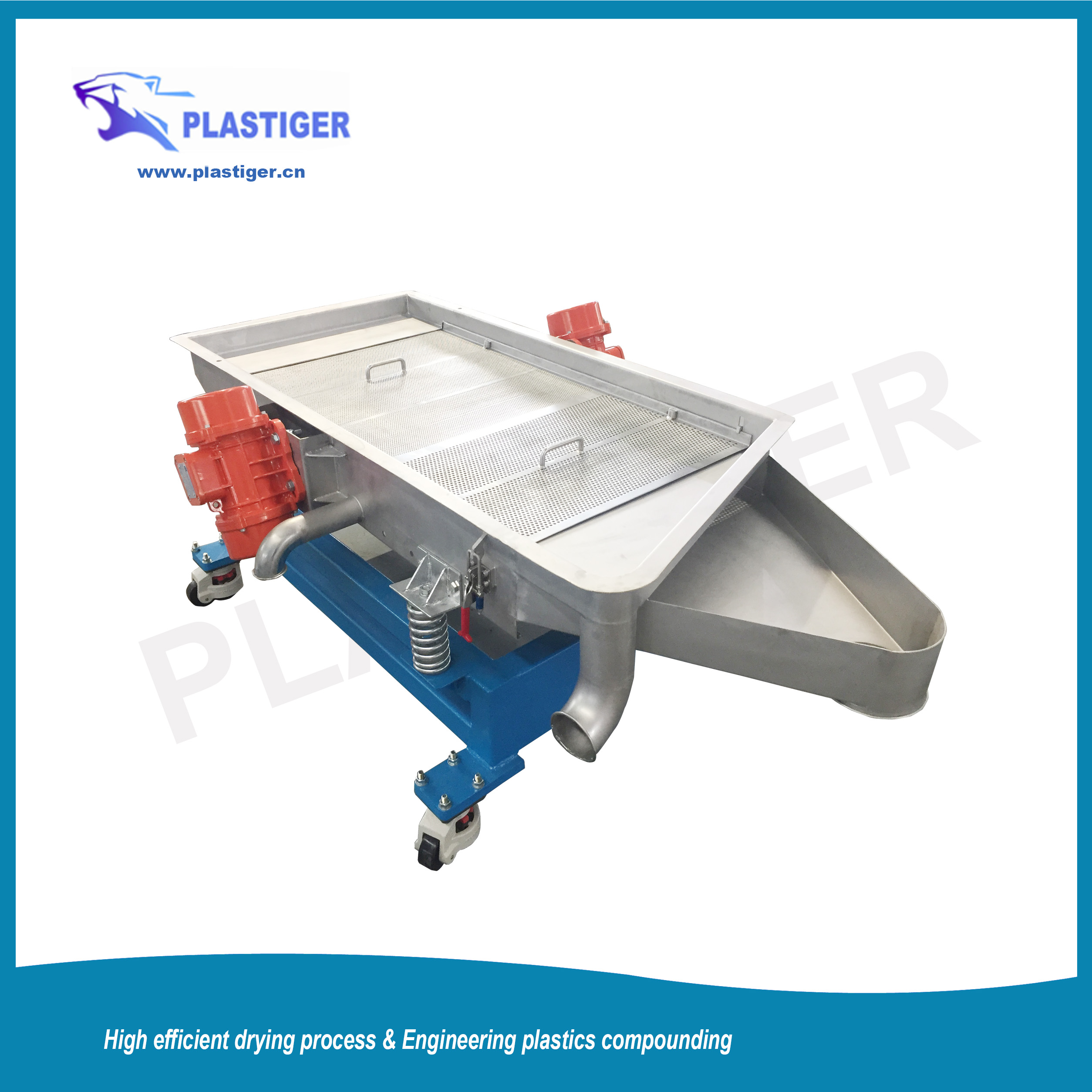Vibrating Screen Classifier for PlastIc Granules
