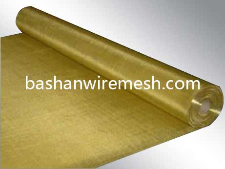 China steel mesh manufacturers Brass Wire Mesh